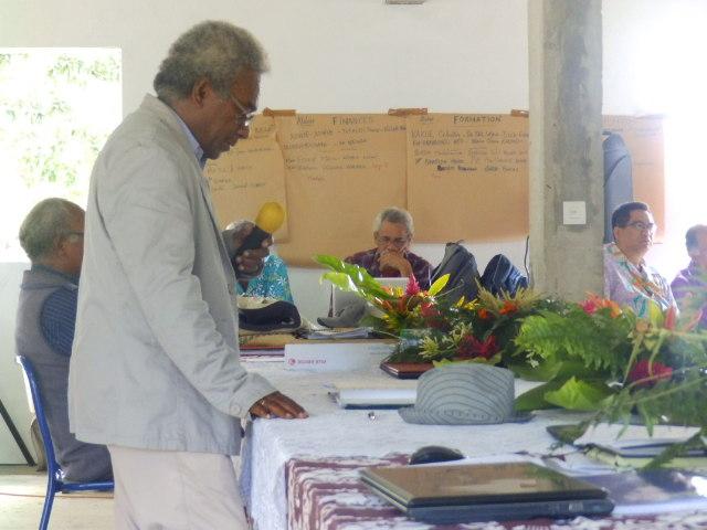 Pasteur WADRAWANE Kawine Président de la région de NENGONE