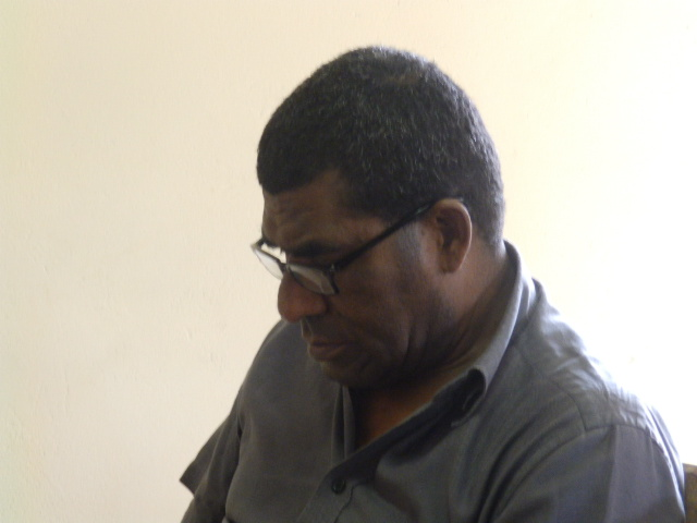 Pasteur dans la paroisse de Gatope : XOWIE Pierre
