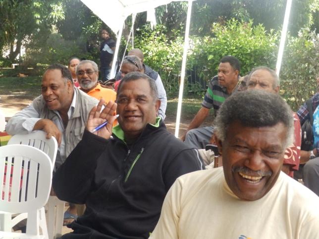 La bonne humeur chez les délégués venus des 8 consistoires