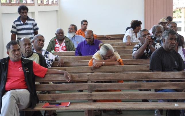 Au temple de la paroisse de Wanap - Koumac -