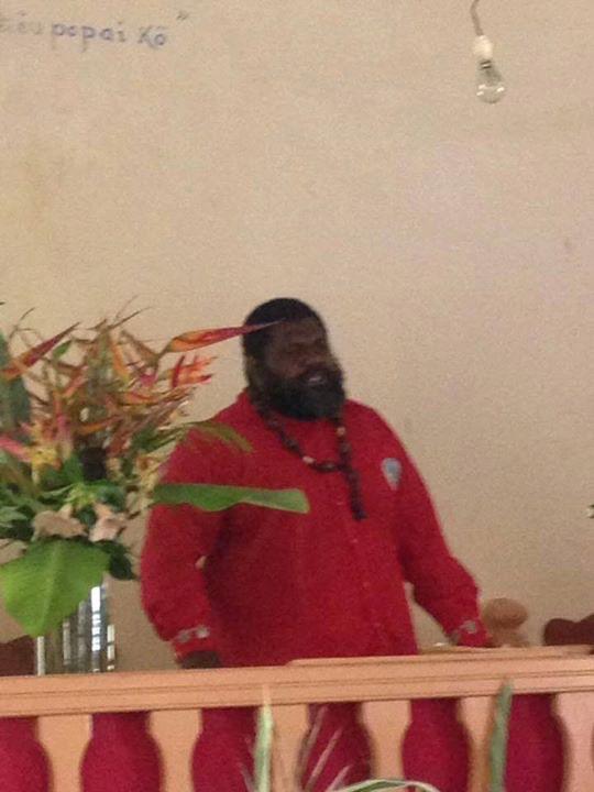 Christian TAOUVAMA, Pasteur dans la paroisse de Tibarama - Poindi-Wimian