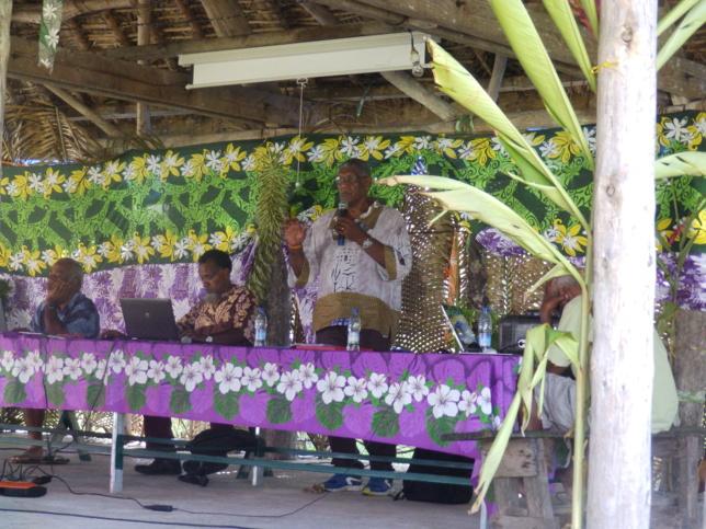 """Intervention : Pasteur WAKAINE Wakira, Président de l'Eglise sur le thème : """"Le ministère Pastoral aujourd'hui """""""