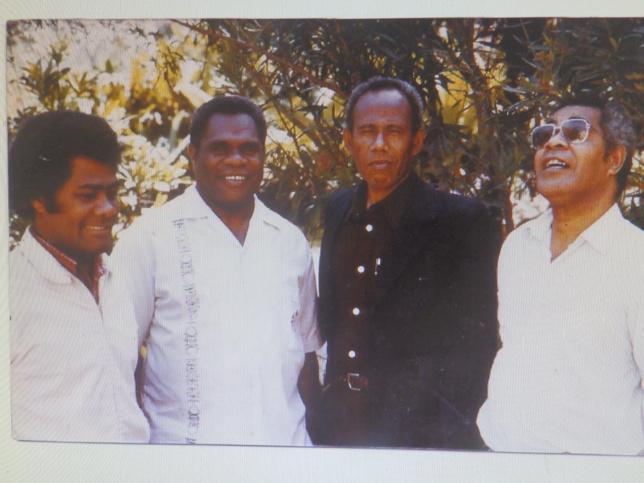 Le bureau de l'eencil :Pt Sailali (Président), Pt Tell (Secrétaire Général), WANOTHUMA Hökë (Vice-Président), Pt LAWI Eötrë (Animateur Théologique)