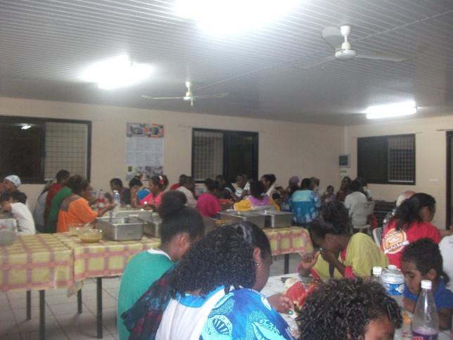 Repas d'aurevoir organisé par la paroisse de la Vallée du Tir