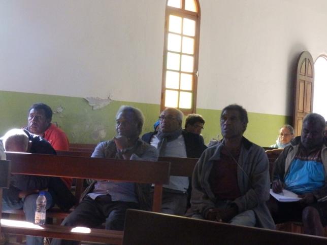 Les délégués sages très attentifs aux débats