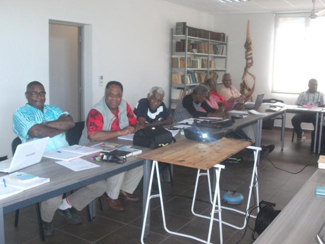 La bonne humeur sur les visages des membres du Conseil Exécutif lors du travail de réactualisation du Programme Missionnaire
