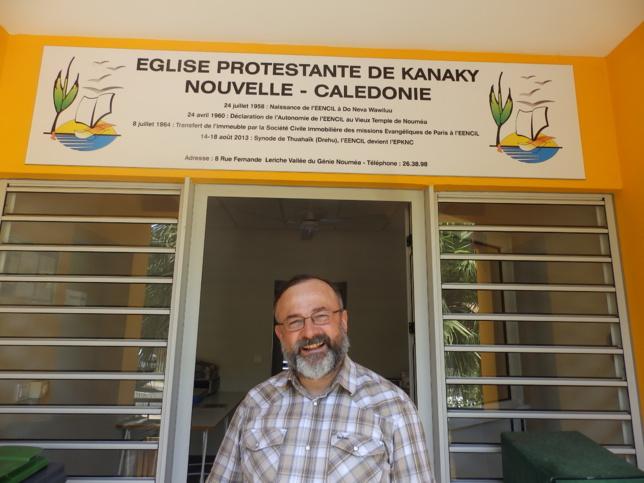 Pasteur Olivier DELACHAUX au siège de l'EPKNC