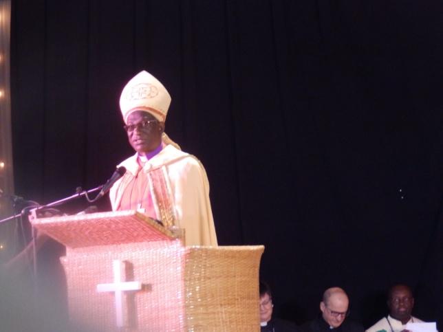Evêque Frédrick Onael Shoo : Evêque-Président de l'Eglise Evangélique Luthérienne de Tanzanie