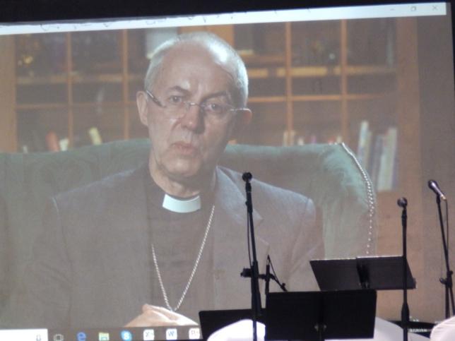 WELBY Justin : Archevèque de Canterburry - Eglise Anglicane.