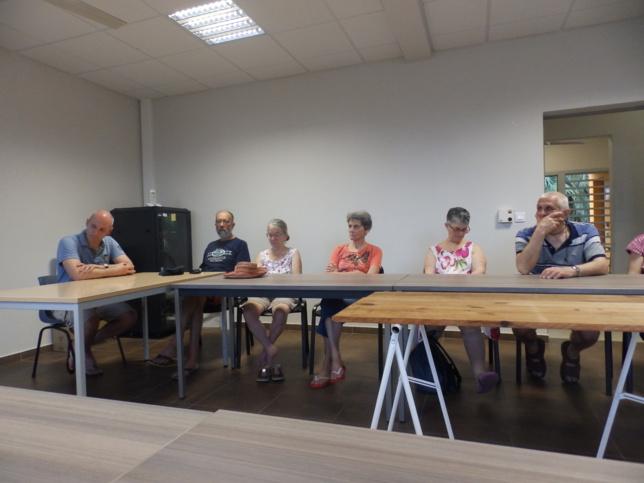 Une délégation conduite par le Pasteur David FACCHIN