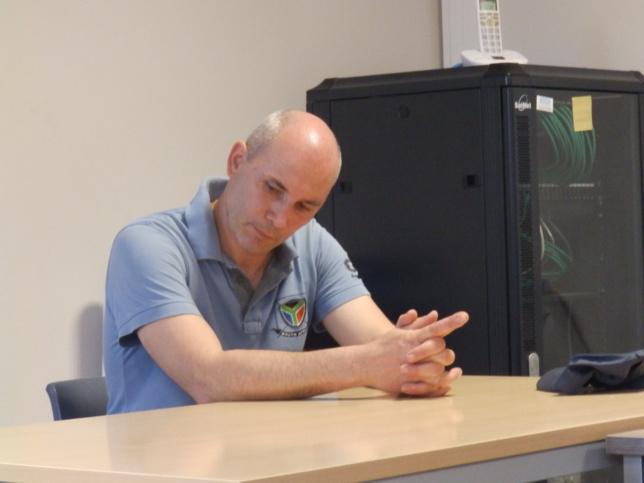 Pasteur FACCHIN David, ancien envoyé de la Cevaa, professeur à Béthanie de 2008 à 2011