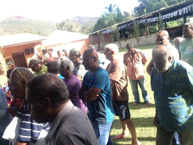 Région de Momawe, Consistoire de Pum accueillent les diacres de l'EPKNC
