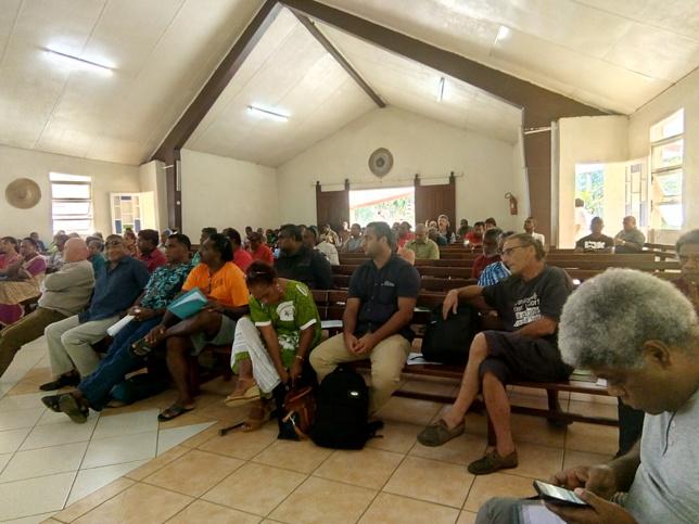 La cinquantaine de délégués ont répondu favorablement par leur présence à la convocation à l'Assemblée Générale Extraordinaire
