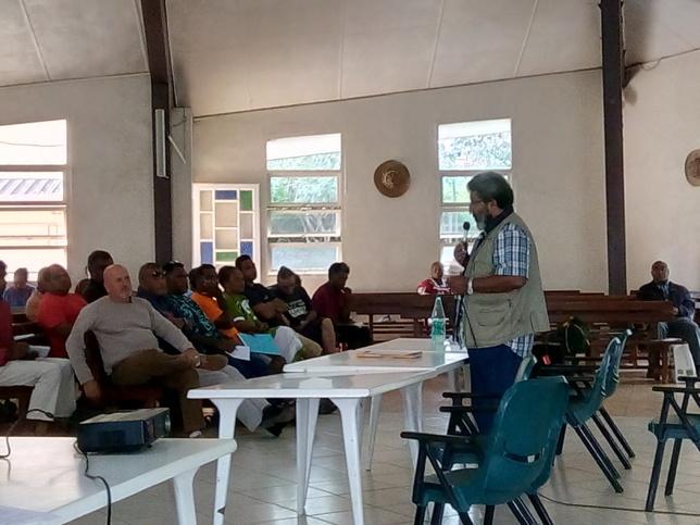 Mot d'ouverture de l'AGE par Mr WAHMETU Kapia, président du Conseil d'administration de l'ASEE