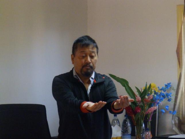 Monsieur HONG Joseph : Docteur et professeur en Théologie à la faculté théologique de Strasbourg - France.