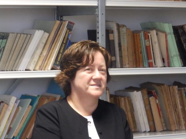 Pasteure Tünde Lamboley au siège de l'EPKNC