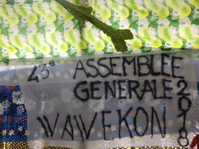 43ème AG du MDF de l'EPKNC à Wawekon
