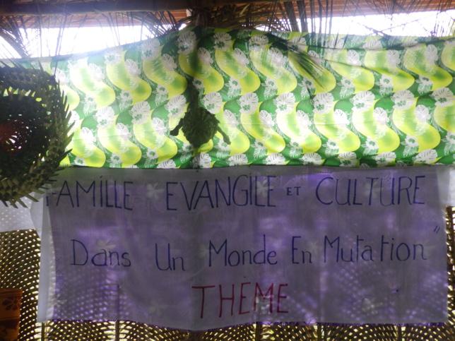 """Thème de l'AG : """"Familles, Evangile et Cultures dans un monde en mutation"""""""