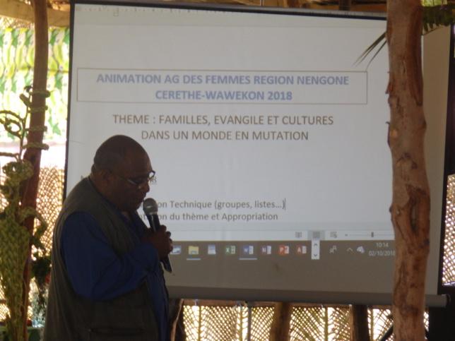 L'animateur théologique de la région de Nengone : Pasteur WADROBERT Alexandre Wadrobert