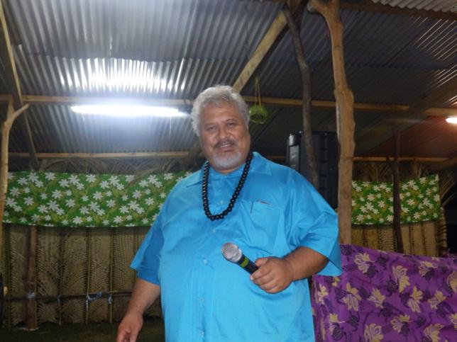 Pasteur FLORES Tiare, animateur des mamans de la région de Nengone