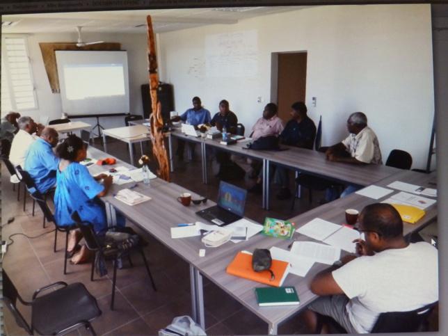 C'est au siège de l'EPKNC que s'est passée la première session de formation continue des aumôniers