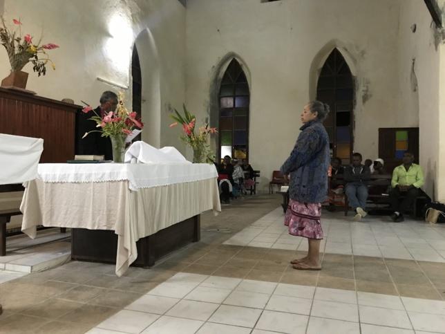 Culte d'installation : Pasteure Marie-Claire KAEMO au poste de secrétaire Générale de l'Eglise Protestante de Kanaky Nouvelle-Calédonie.