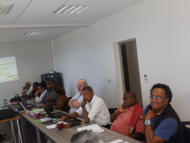 Mr WAMEREUNO Tue membre du CE, invité du CA