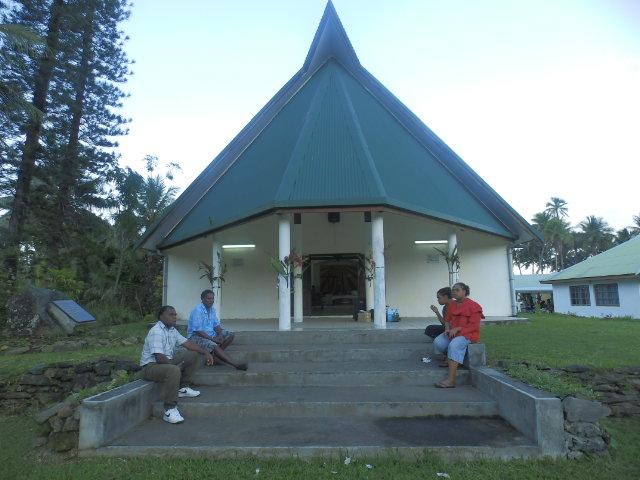 Le temple de la paroisse de Windo