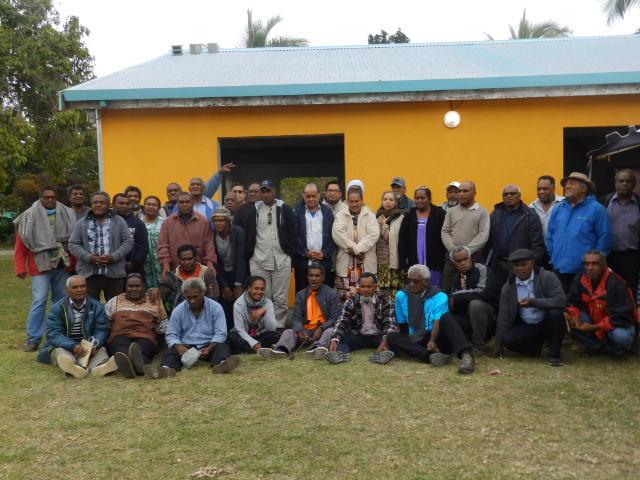 Les délégués du 3ème Synode Général de l'EPKNC