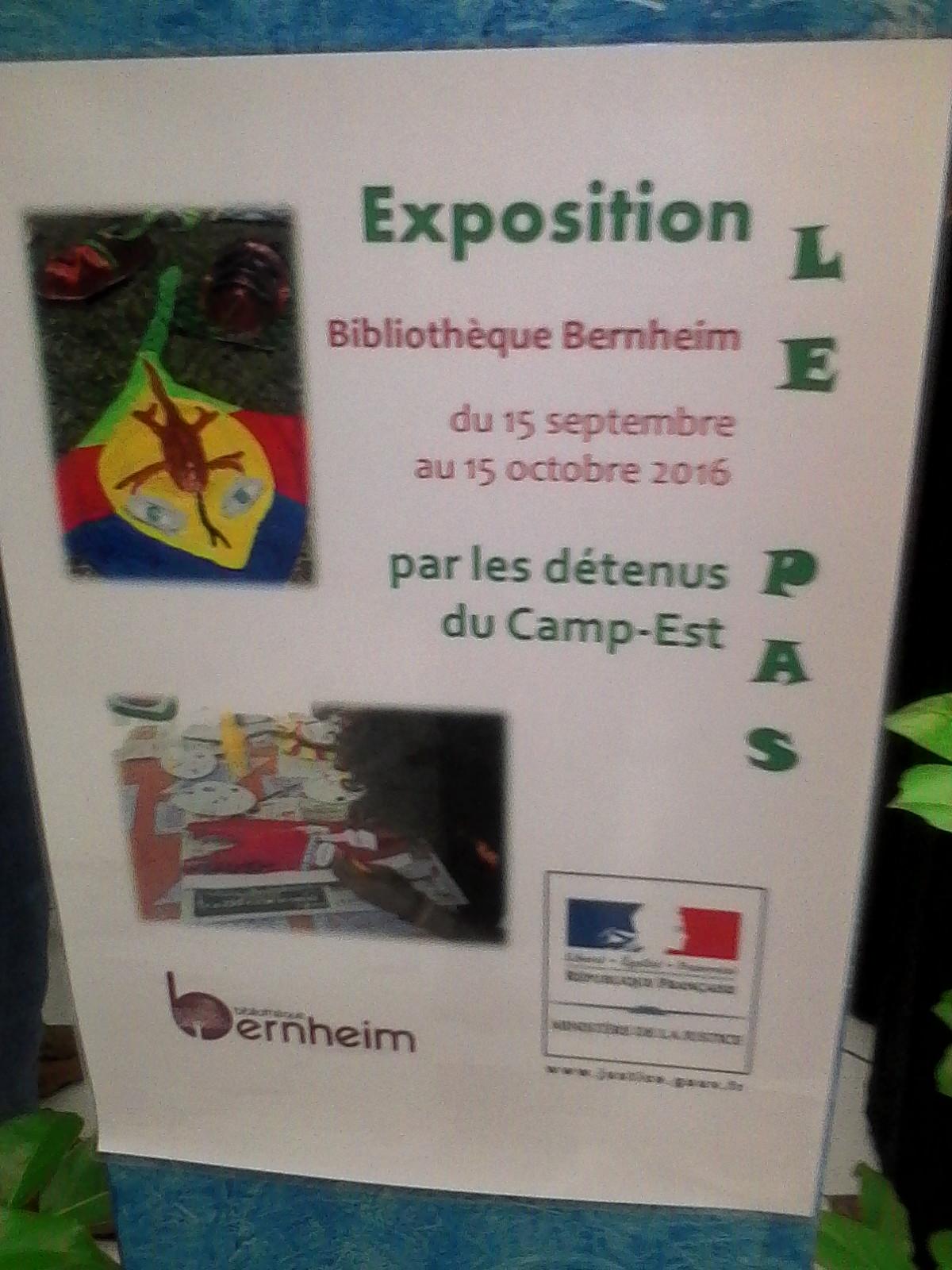 """L'Affiche de l'Exposition """"LE PAS """""""