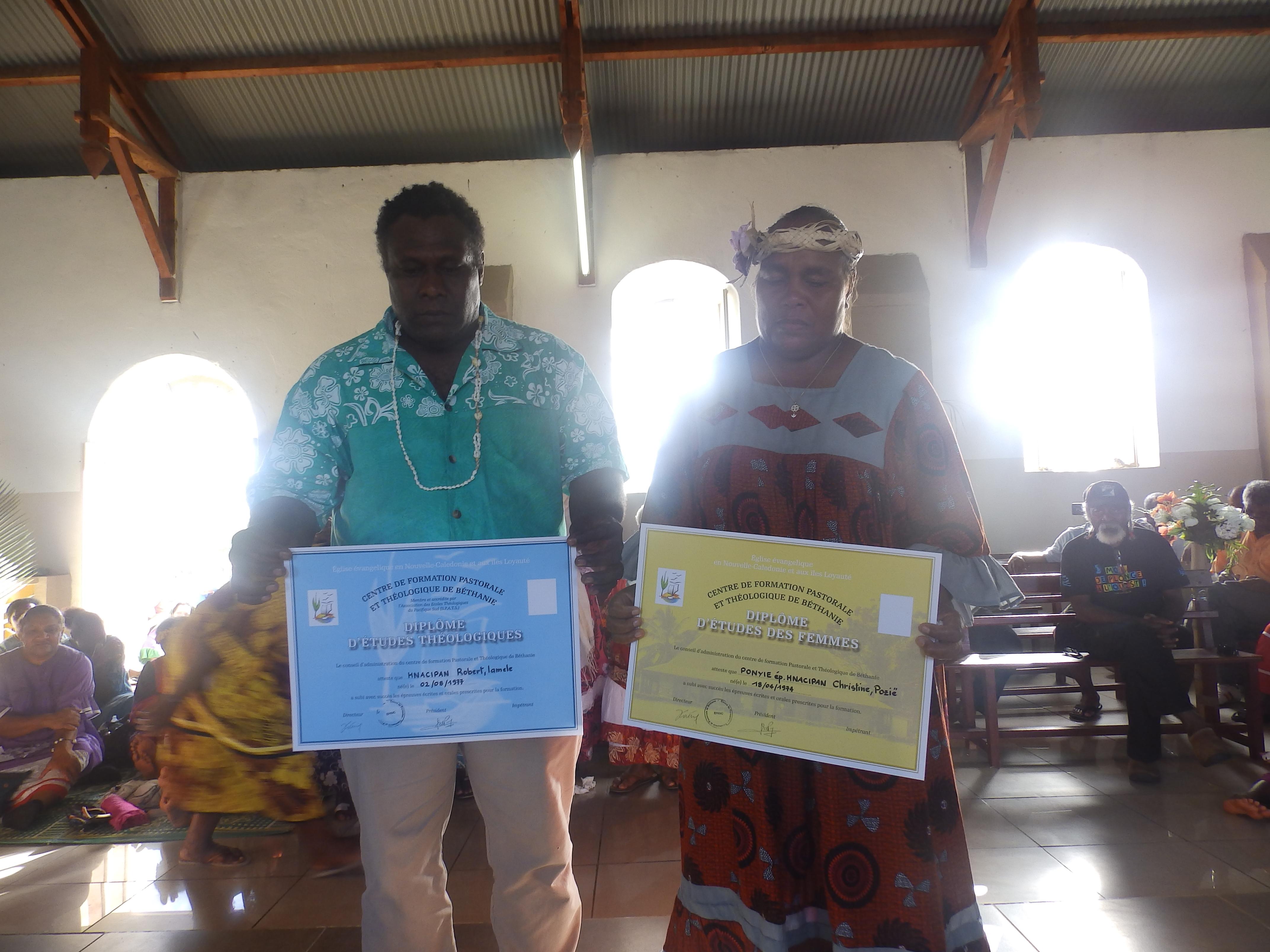 HNACIPAN Robert Iamele et son épouse Christine Pozië seront mutés dans la région de Momawe