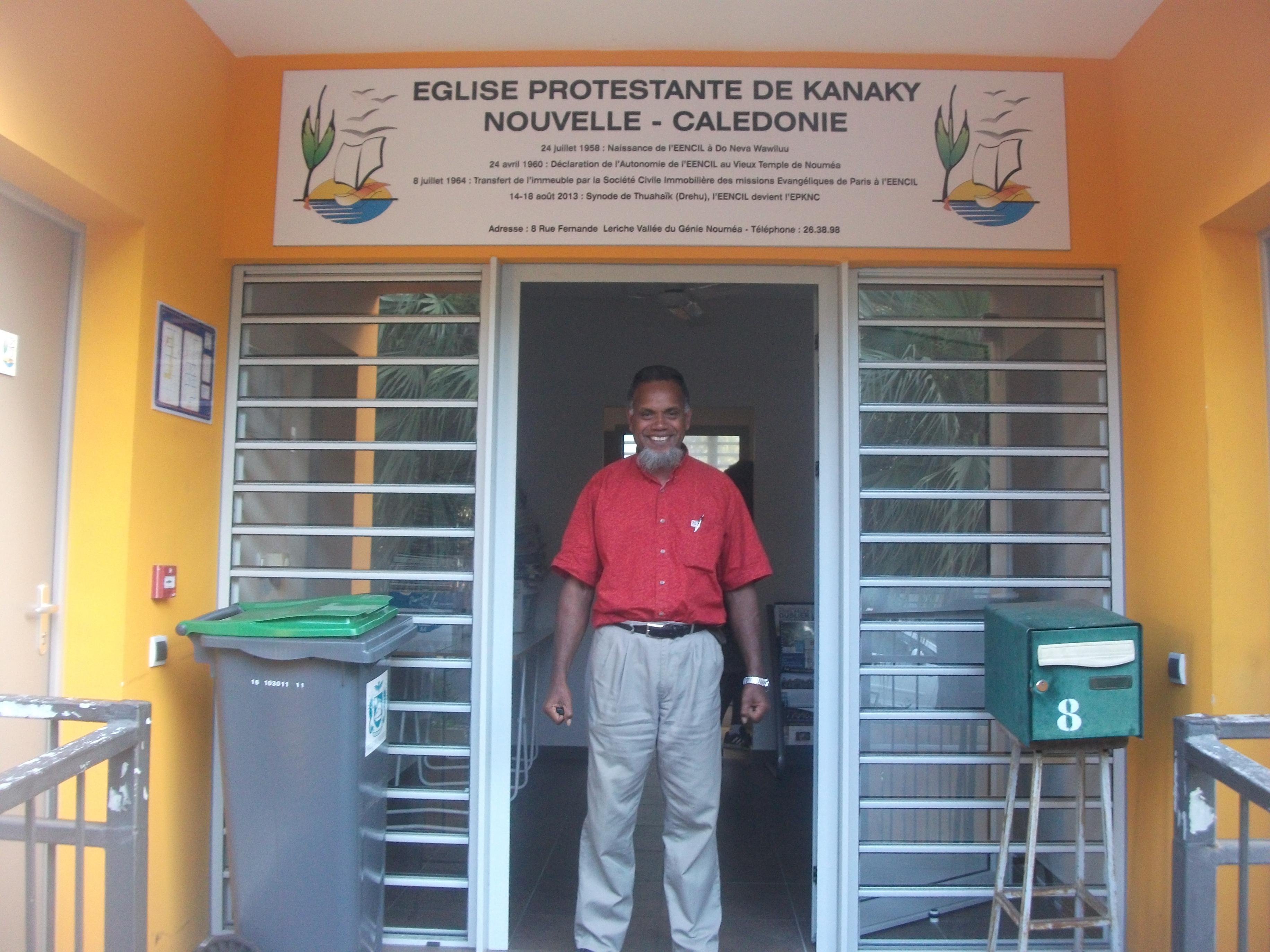 Pasteur GOLESHA Sarengom, Président du Conseil Régional de Nengone 2018 - 2020