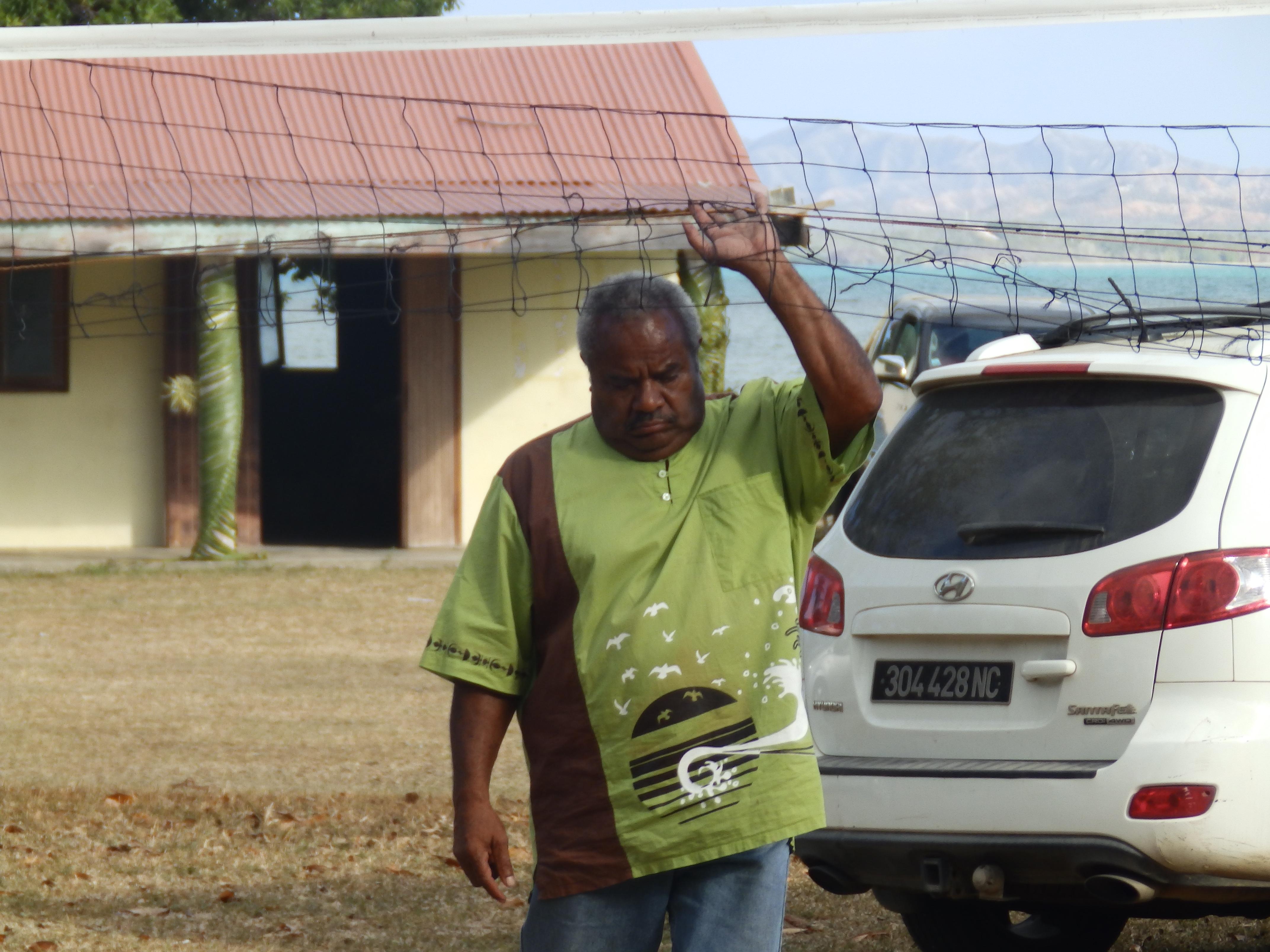 Mr DAHOTE Piepe : responsable de la paroisse de caavet qui accueille la Yunian 2017