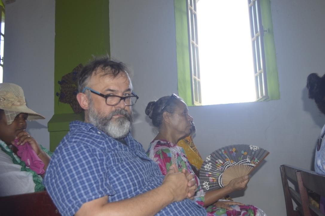 Pasteur DELACHAUX Olivier et Pasteur KAEMO Marie-Claire (Directrice du Centre de Formation Pastorale et Théologique de Béthanie)