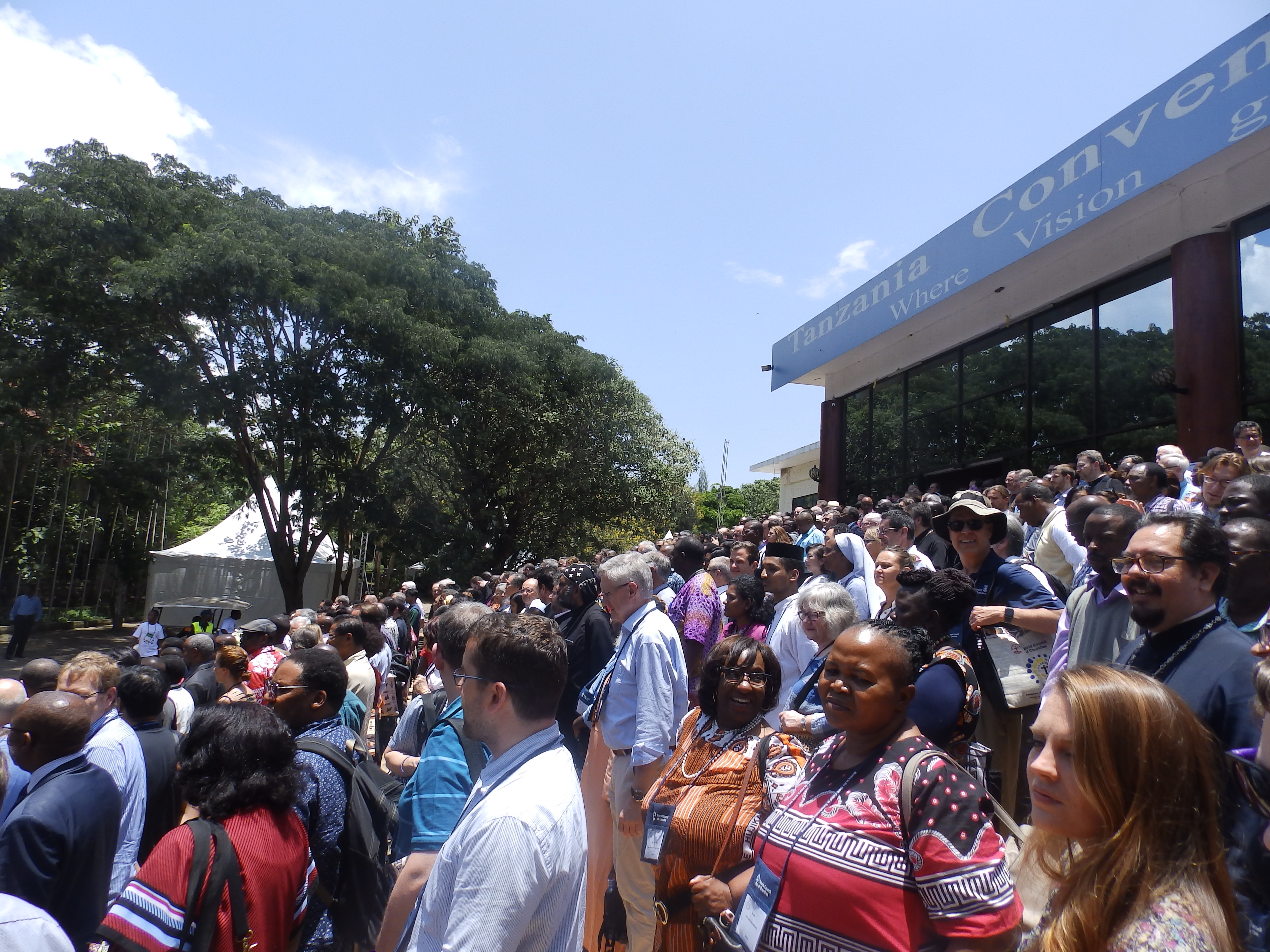 1024 délégués venus des églises membres du COE