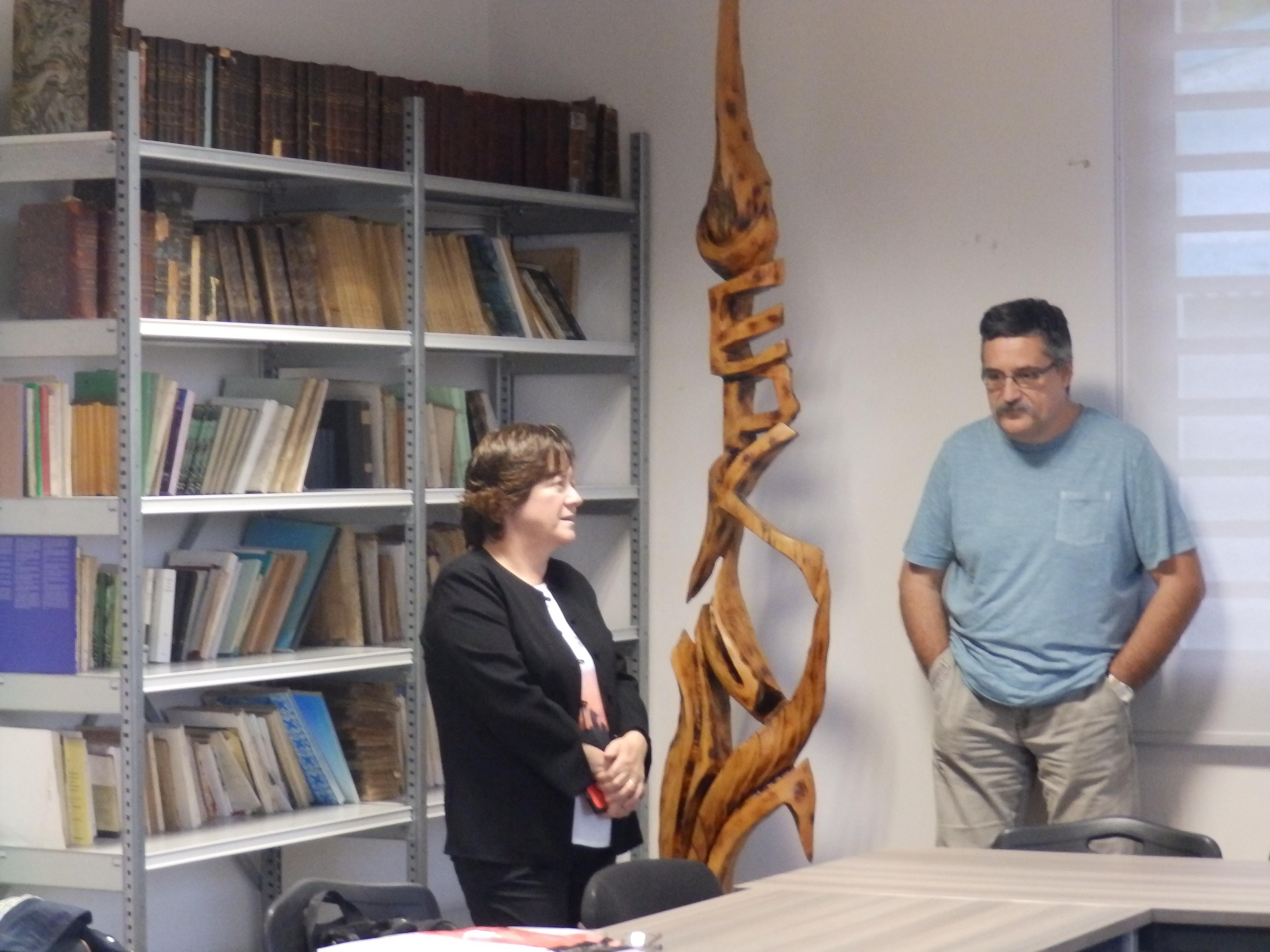 En discussion avec Olivier HOUDARD trésorier général de l'EPKNC