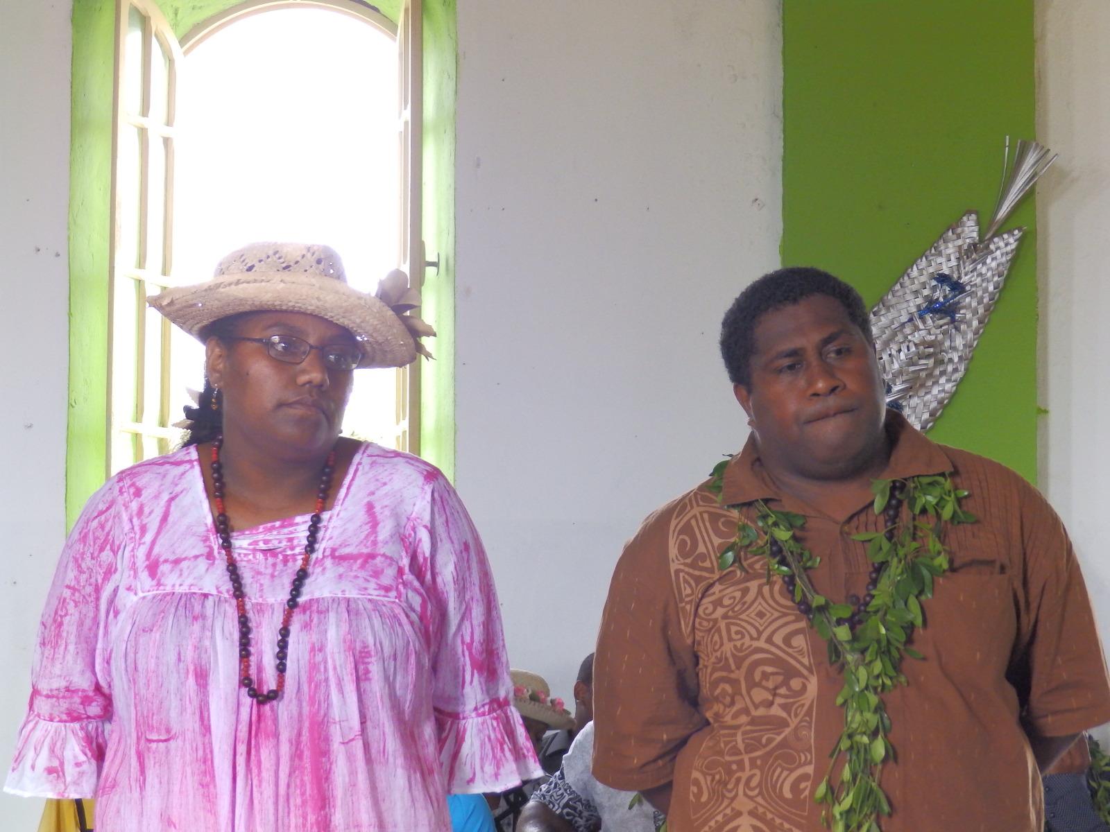 IWAN Emile et son épouse ont été affectés dans la région de Momawe