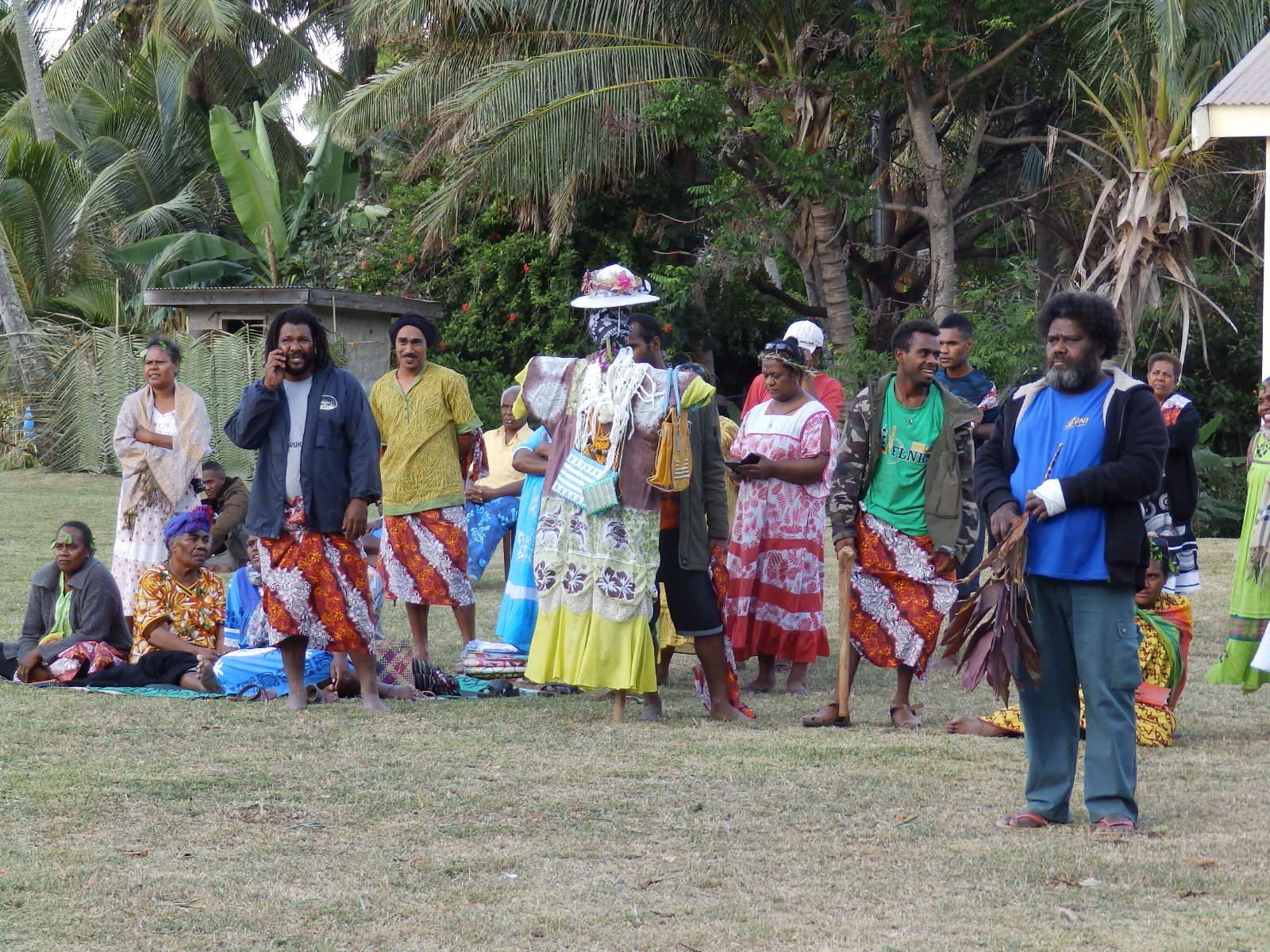 Les paroisses des îlots ont accueilli la fille de Thiic. La pentecôte se fêtera en 2010 à la paroisse de Tââlô