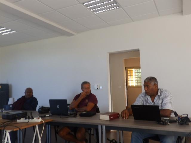 Issacka, Michel et Kakue