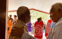 ACCUEIL DES PASTEURS : KAEMO HÖCË LEONARD, KALOIE EDOUARD CIWË, ET BEARUNE HONORE WARISINE