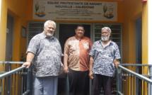 Pasteur FLORES Tiare, pasteur Pifao TEHUIARII, pasteur KAEMO Höcë